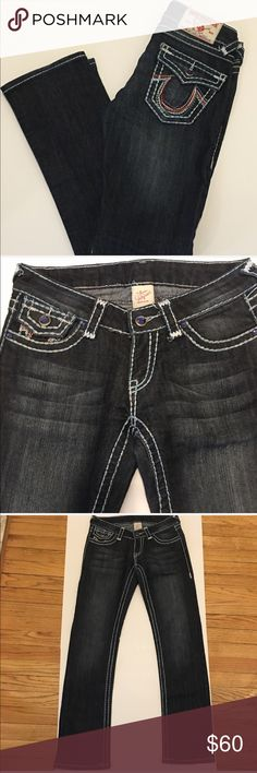 abce0c3ebb96 True Religion Jeans Very cute true religion jean with detailed back and  front. This is