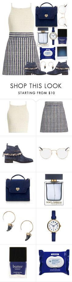 """💙"" by burcaak ❤ liked on Polyvore featuring SHE MADE ME, Miu Miu, Freda Salvador, Ray-Ban, Dolce&Gabbana, Zimmermann, Marc by Marc Jacobs, Butter London, Klorane and Summer"