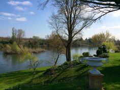 Paysage, Vallée de la Dordogne près de Port Sainte Foy