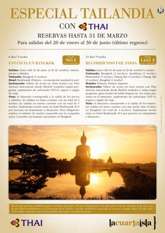 Especial Tailandia con Thai del 20 Enero al 30 Junio. Estancia en Bangkok desde 965 euros ultimo minuto - http://zocotours.com/especial-tailandia-con-thai-del-20-enero-al-30-junio-estancia-en-bangkok-desde-965-euros-ultimo-minuto-2/