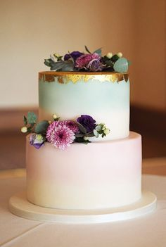 25 Pastel Wedding Cake For Spring And Summer - Hochzeitsessen - Kuchen Pastel Wedding Cakes, Pastel Cakes, Wedding Cakes With Cupcakes, Wedding Cakes With Flowers, Tier Wedding Cakes, Best Wedding Cakes, Spring Wedding Cakes, Vintage Pastel Wedding, Purple Cakes