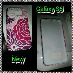S5 CASE Galaxy S5 case with flowers samsung galaxy  Accessories Phone Cases