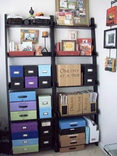 More Storage Ideas - Media - Cloth Paper Scissors