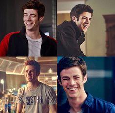 Barry has the cutest smile! Thomas Grant Gustin, The Flash Grant Gustin, Barry Allen Flash, The Flashpoint, The Flash Season 1, Dc Comics, Man Crush Monday, Fastest Man, Dc Legends Of Tomorrow