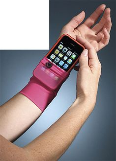 Wrist Cell Phone Holder