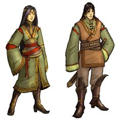 Costume Designs - Characters & Art - Guild Wars Factions
