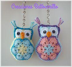 Owl Crochet Patterns, Crochet Owls, Amigurumi Patterns, Crochet Crafts, Crochet Flowers, Knitting Patterns, African Flower Crochet Animals, Crochet Baby Booties, Sewing Projects