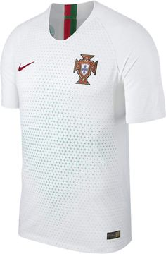 Nike 2018 Portugal Vapor Match Away Men's Soccer Jersey Size Small (White) Portugal National Football Team, Jersey Atletico Madrid, Soccer Shop, White Jersey, Nike Outfits, Sport Wear, Mens Fashion, World Cup, Outfits