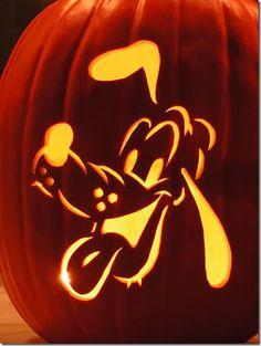 Pluto Pumpkin Carving