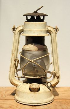Antique German Oli Lamp Railroad lantern Rustic by RedSableStudio, $32.00