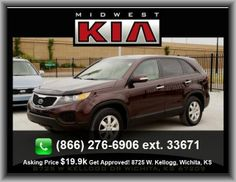2012 Kia Sorento LX SUV  Passenger And Rear, Independent Rear Suspension, Center Console: Full With Covered Storage, Suspension Class: Regular, Cupholders: Front And Rear, Integrated Roof Antenna, Steel Spare Wheel Rim,