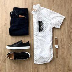 """Moda Masculina on Instagram  """"👉 ModaMasculinaShop.com.br 🔝🔥 Alguns  homens têm receio de usar camisa de manga curta 1a9094480a4c5"""