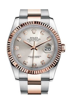 Rolex 116231 sdo Datejust 36 mm Steel and Everose Gold. #rolex