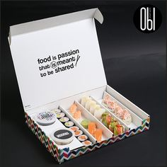 """I wish I can download this box of sushi right now!"" - ‪#‎Sushiholic‬ They might not be one click away, but they're definitely one call away… and that's kind of the same thing! Contact OBI Badaro on 01-383411/76-007599 or The Village Dbayeh on 71-900190 for delivery."