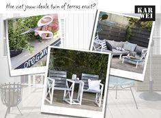 KARWEI | Pin jouw ideale tuin of terras en maak kans op een KARWEI KadoKaart t.w.v. €150,-