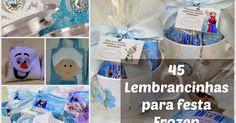 Gemelares.com.br - Site para gestantes e mães de gêmeos, trigêmeos, quadrigêmeos ou mais! : 45 Lembrancinhas para festa Frozen