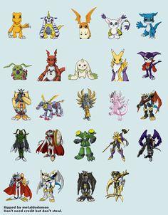 Digimon Renders
