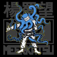 meerkatsu: Meerkatsu Art: Competidor T-shirt and Wallpaper