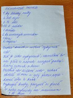 Zemiakové pagáče 2 Bread Recipes, Food To Make, Food And Drink, Vegetarian, Homemade, Snacks, Meals, Baking, Drinks
