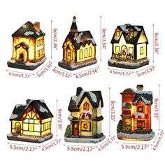 Resin light house Christmas decoration European style 🌲myalleshop European Style, European Fashion, Resin Material, Christmas Decorations, Christmas Ornaments, Light House, Decorating Your Home, Cottage, Resin