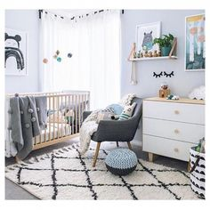 Safe nursery set up