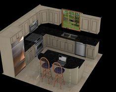 Best 12X12 Kitchen Floor Plans Kitchen Layouts Pinterest 640 x 480