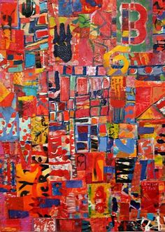 Mary Boxley Bullington: Reinventing the Wheel: Abstract paintings and collages