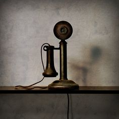 telefon antique vintage telephone - real or a painting? Repinned by www.silver-and-grey.com