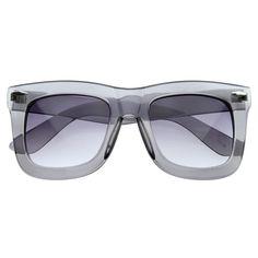 Oversize Womens Fashion Thick Bold Frame Sunglasses - zeroUV
