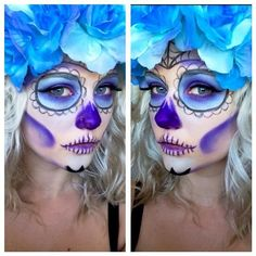 12 Day of the Dead Beauty And Nail Looks That Will Amaze You