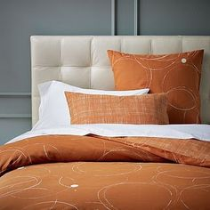 West Elm fall bedding
