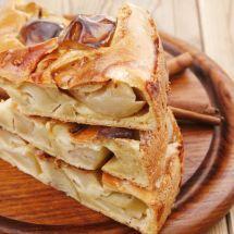 Ma recette du jour : Flan aux pommes facile sur Good-recettes.com