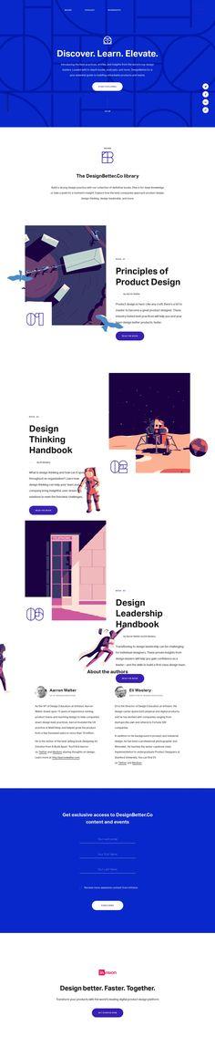 Discover the world's best design practices—DesignBetter.Co