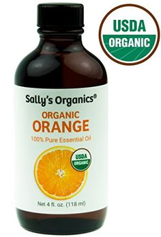 USDA Certified Organic Orange Oil (100% Citrus Sinensis) * Botanical Name: Citrus sinensis * Extraction Method: Cold Pressed * Elevating. Calming. Enchanting.* Also known as Sweet or Wild Orange Ingre...