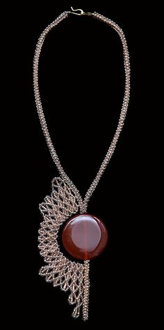 * TUTORIALS * INSTRUCTIONS * PATTERNS * NETTING STITCH * NECKLACE * JEWELRY…