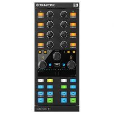 TRAKTOR KONTROL X1 is the compact add-on controller engineered for seamless TRAKTOR integration.