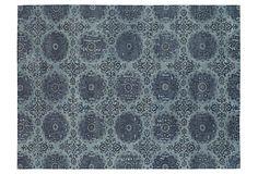 6'x9' Veda Rug, Denim Blue on OneKingsLane.com