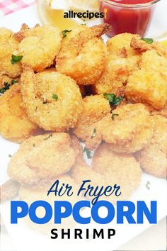 """Air Fryer Popcorn Shrimp 