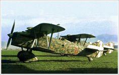 Fiat CR.32 Aircraft Parts, Ww2 Aircraft, Military Aircraft, Italian Air Force, Italian Army, Fixed Wing Aircraft, Air Force Aircraft, Royal Air Force, Aviation Art