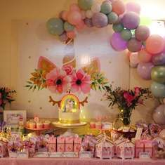 Cumpleaños - Unicornio