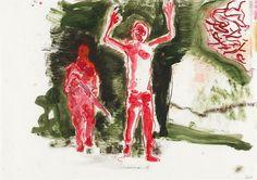 Thunderstruck (Daniel Richter (German, b. 1962), Untitled, 2007....)