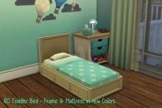 Chillis Sims: RC Toddler Bed • Sims 4 Downloads