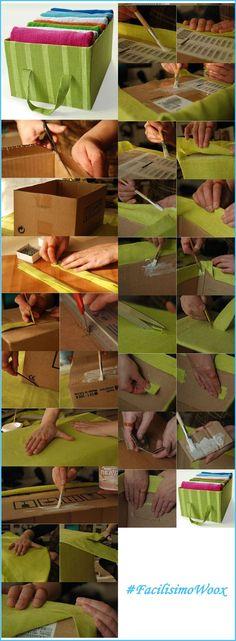 Recicla papel y cartón para decorar en casa (II)   Aprender manualidades es facilisimo.com