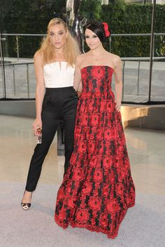 The Style of the 2013 CFDA Awards: Mia Morretti in Alice & Olivia with Stacey Bendet