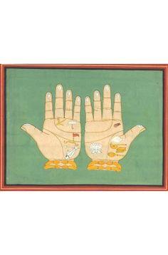 The Lotus Handprints of Sri Nityananda Prabhu
