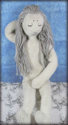 Grey, companion doll by Cayora