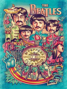 THE BEATLES POSTERS - ROCK BAND POSTERS 20% OFF