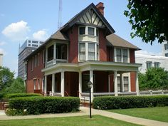 "Atlanta home of Margaret Mitchell, author of ""Gone with the Wind"""