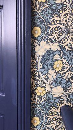 home decor rustic Wallpaper, Decor, Inspiration, Curtains, Interior, William Morris, Home Decor