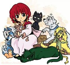 Akatsuki no Yona - OhmyGOSH! Of COURSE Hak is a CAT! ♡ It fits his personality so well and I LOVE IT!! ♡♡♡